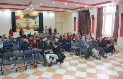 Palestine Polytechnic University (PPU) - طلبة تخصص نظم المعلومات ينظمون لقاءا تكريميا لأحد الطلبة الخريجين