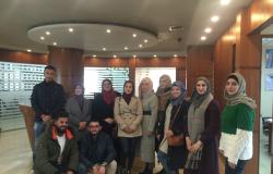 Palestine Polytechnic University (PPU) - زيارة ميدانية - طلبة مساق ادارة المشاريع العامة