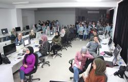 Palestine Polytechnic University (PPU) - زيارة مدرسة صرة الثانوية للبنات لكلية العلوم الادارية ونظم المعلومات