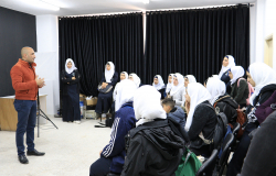 Palestine Polytechnic University (PPU) - زيارة مدرسة أبو بكر الصديق لكلية العلوم الإدارية ونظم المعلومات