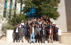 Palestine Polytechnic University (PPU) - زيارة مدرسة المأمون الأساسية / يطا لكلية العلوم الادارية ونظم المعلومات